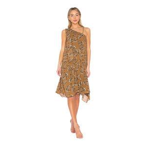 Elliatt Song Dress in Cocoa Based Print XS